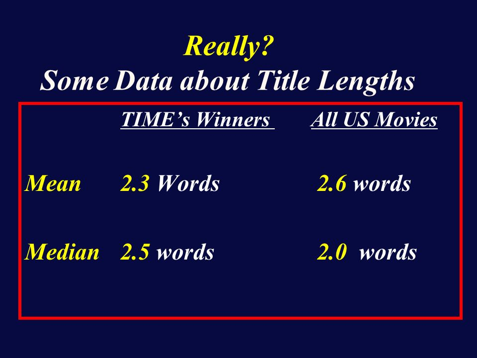 Some Data Analyses Make Little Sense
