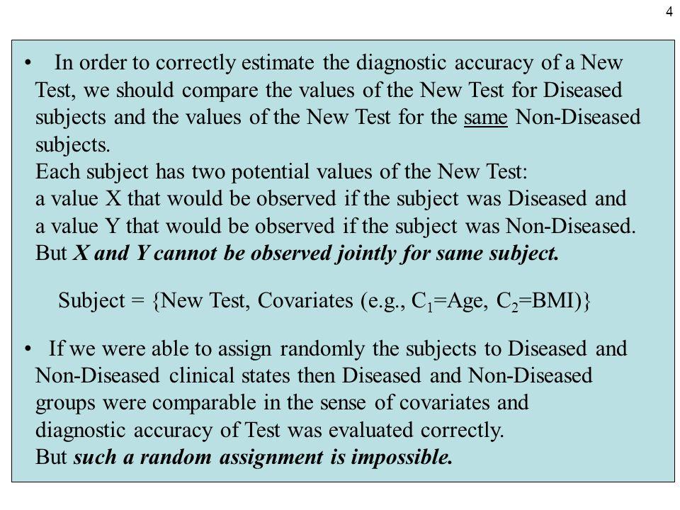 5 Biased estimators of AUC occur if I.