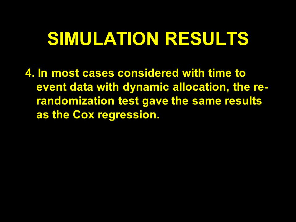 SIMULATION RESULTS 4.