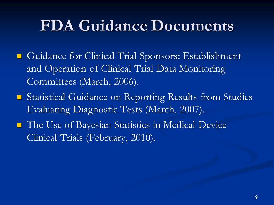 Bayesian Guidance Finalized February 5, 2010.