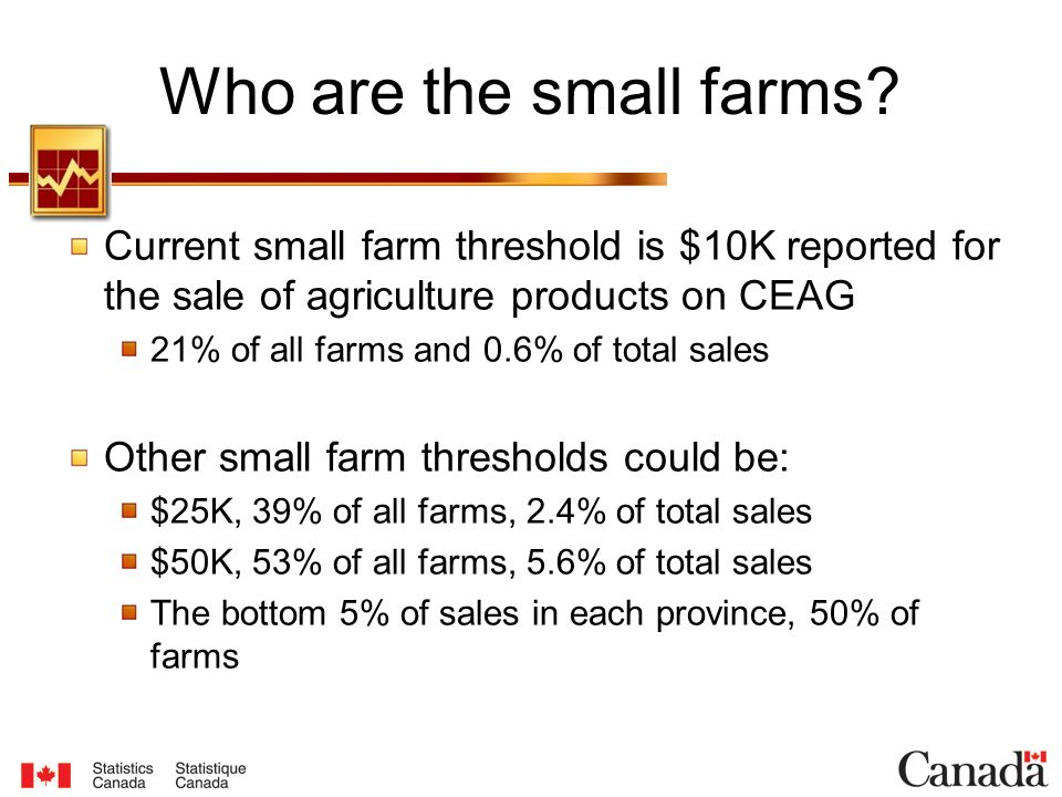 Who are the small farms.