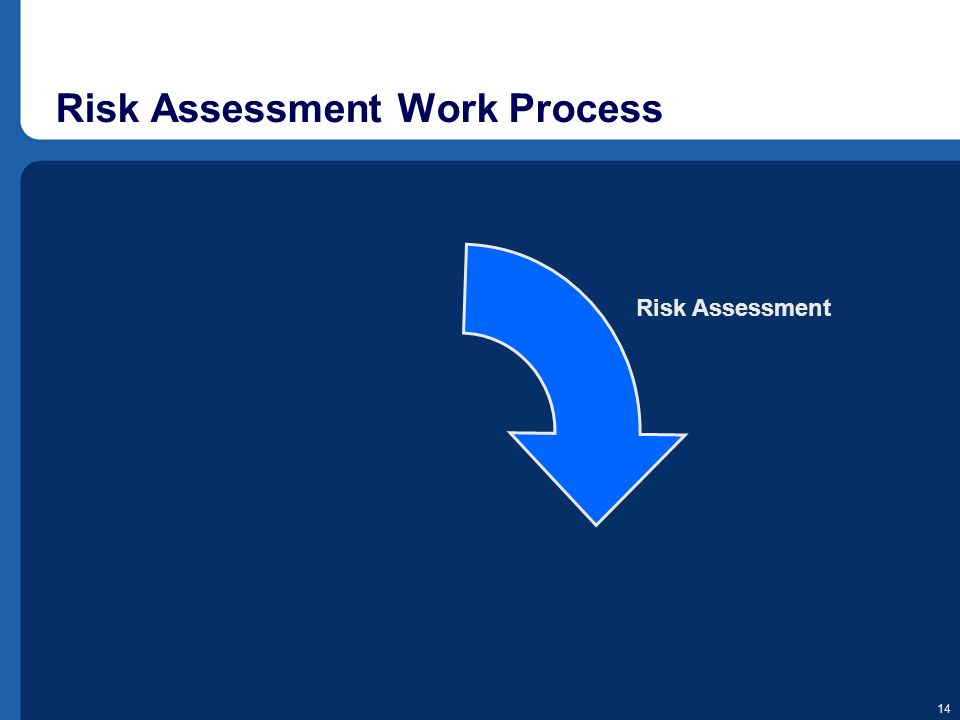 14 Risk Assessment Work Process Risk Assessment