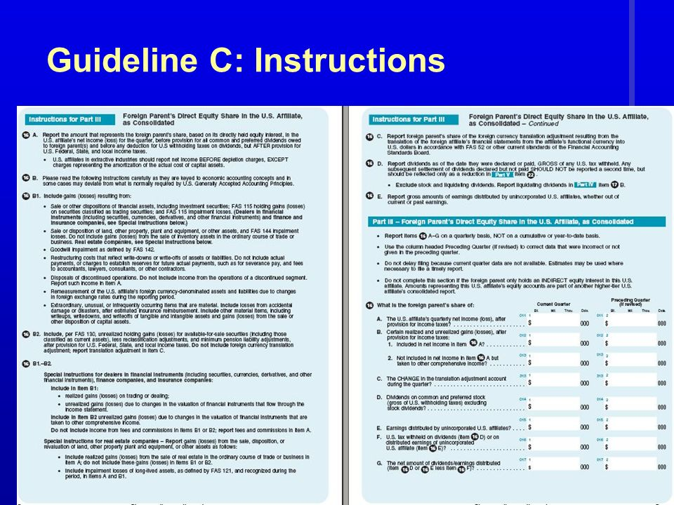 47 Guideline C: Instructions