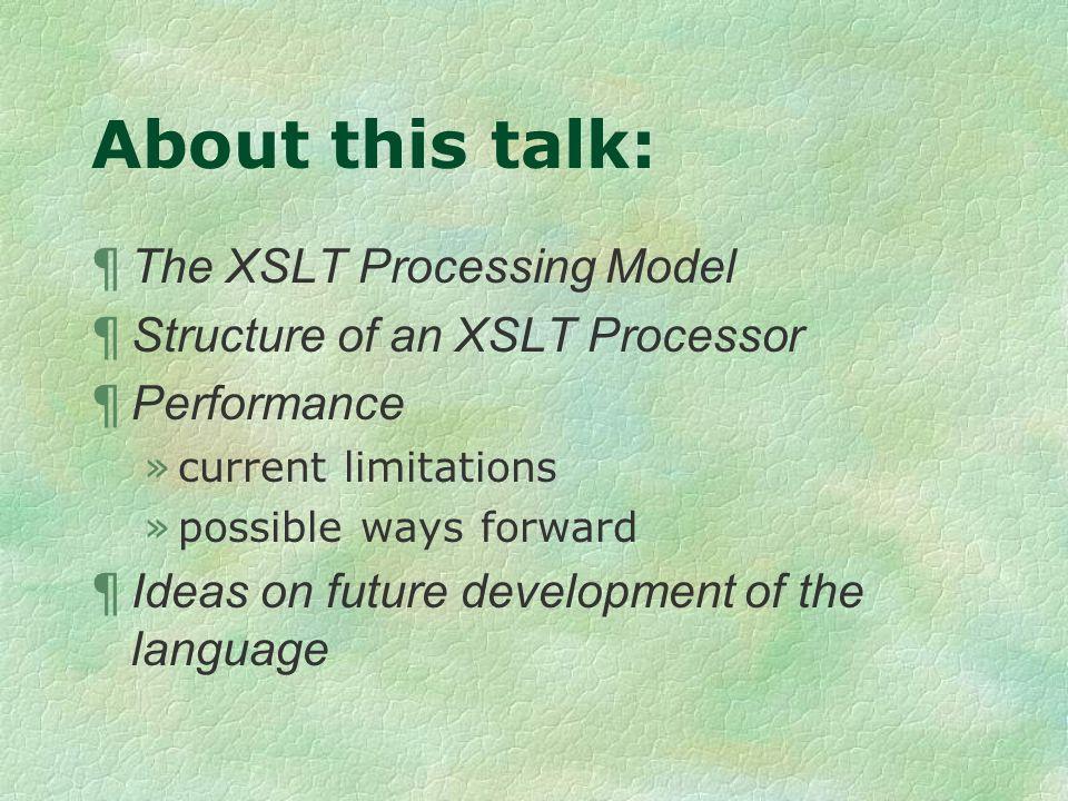 Potential language features ¶ Serial transformation language.