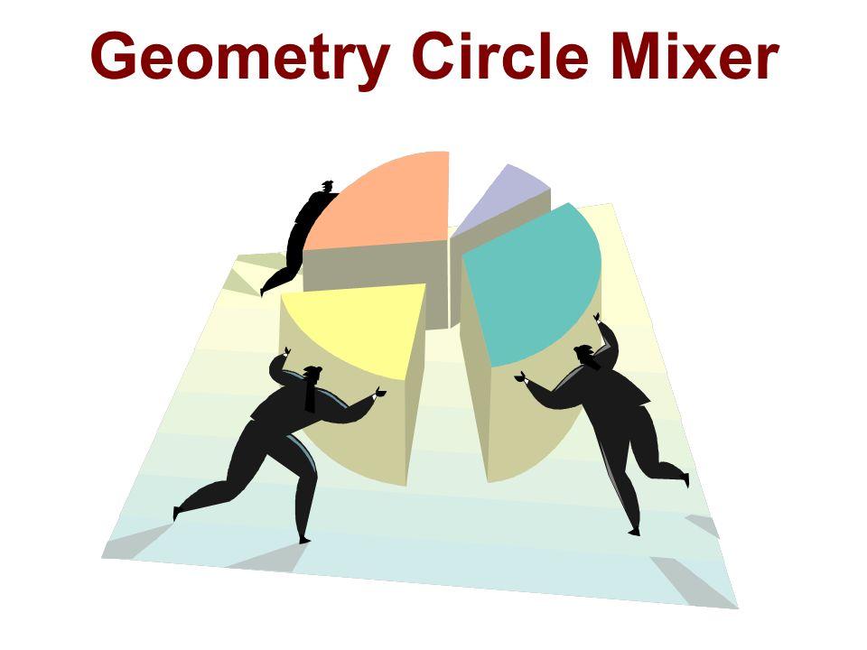Geometry Circle Mixer