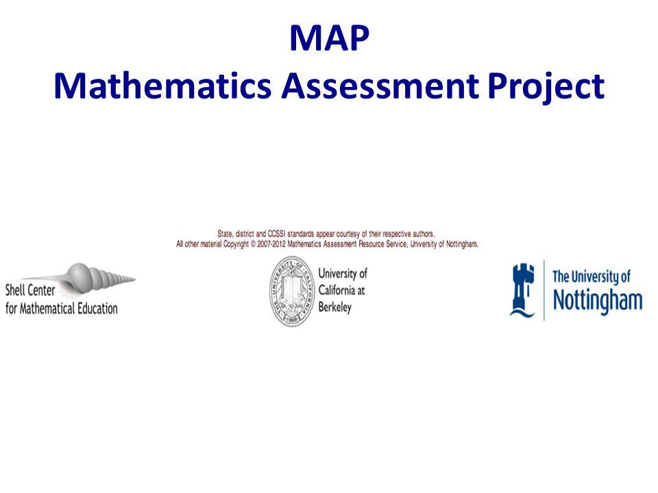 MAP Mathematics Assessment Project