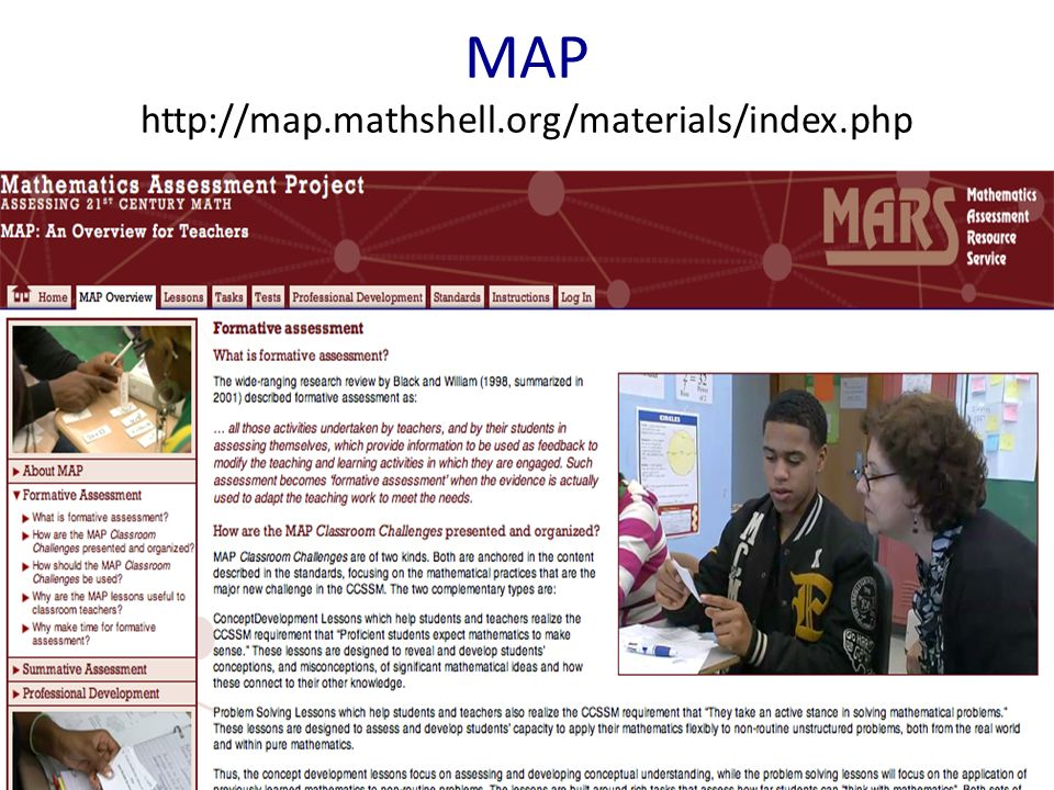 MAP http://map.mathshell.org/materials/index.php