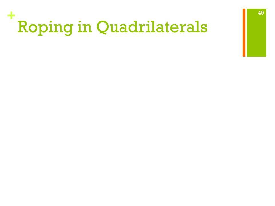 + Roping in Quadrilaterals 49