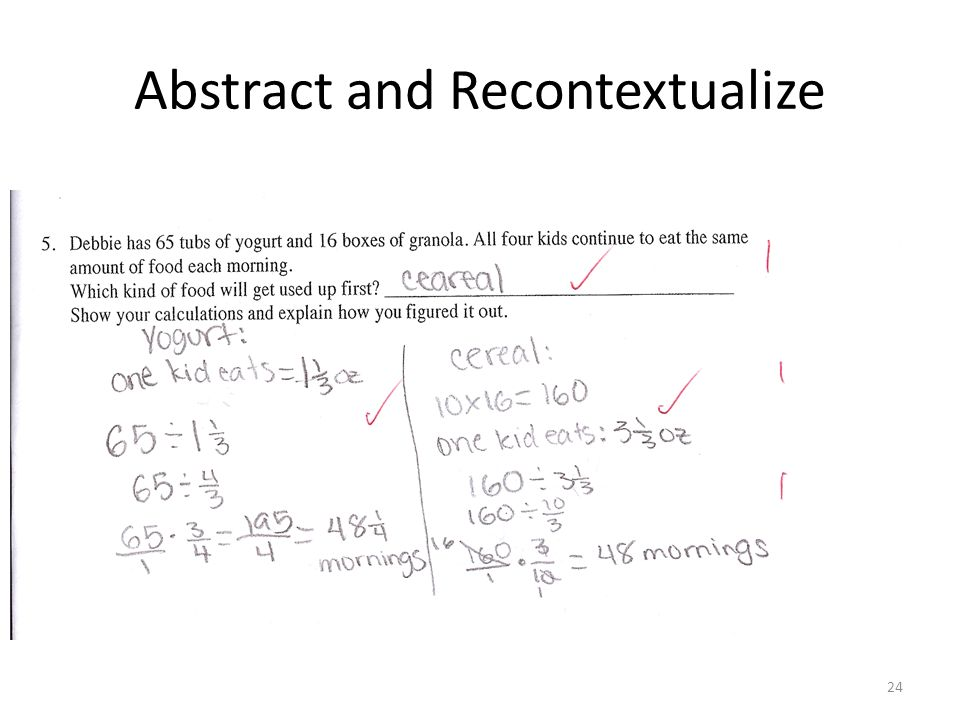 Abstract and Recontextualize 24