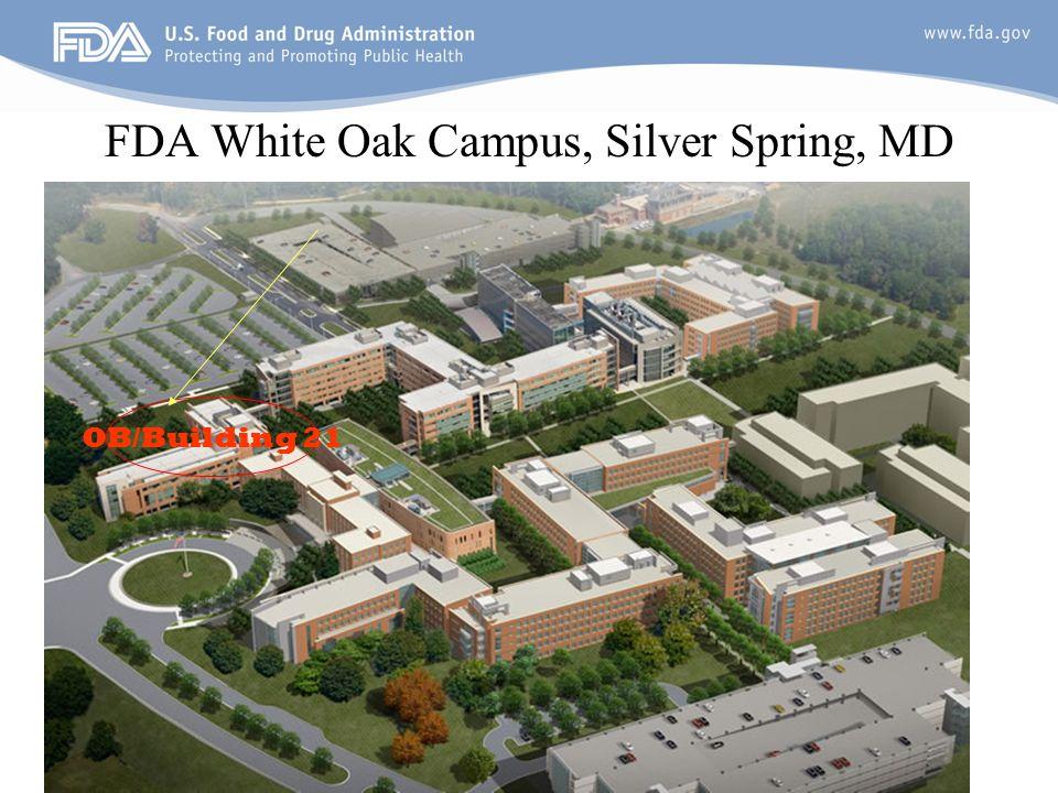 3 FDA White Oak Campus, Silver Spring, MD OB/Building 21
