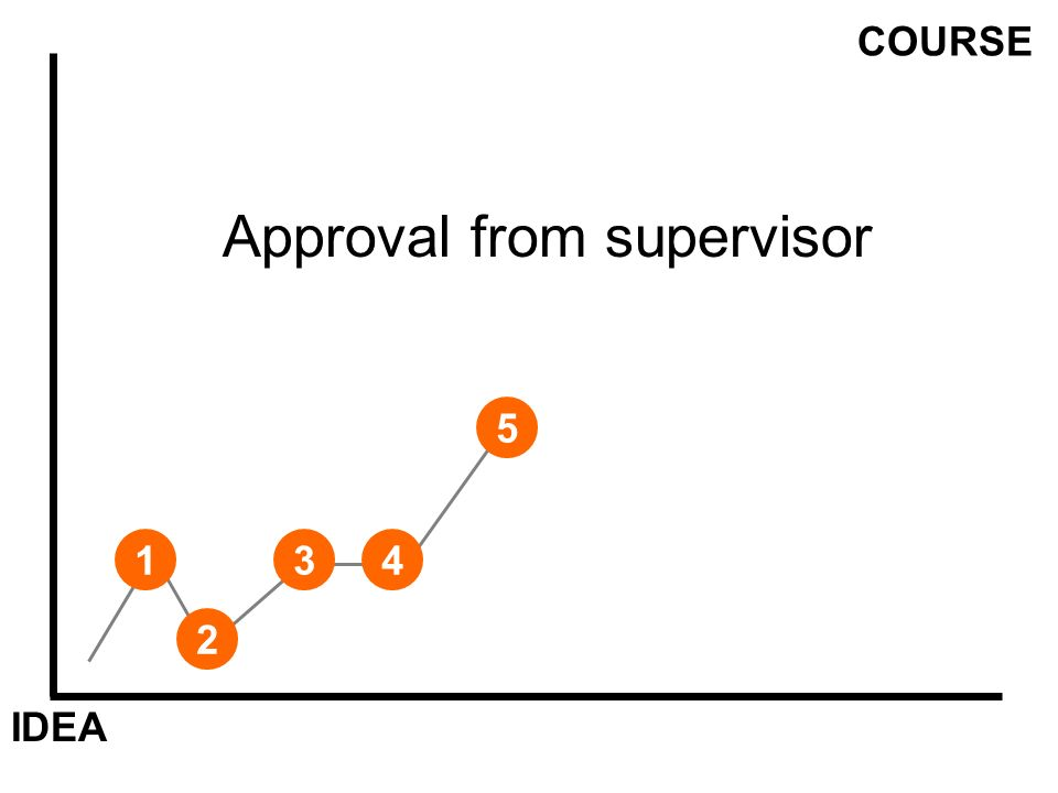IDEA COURSE 1 Approval from supervisor