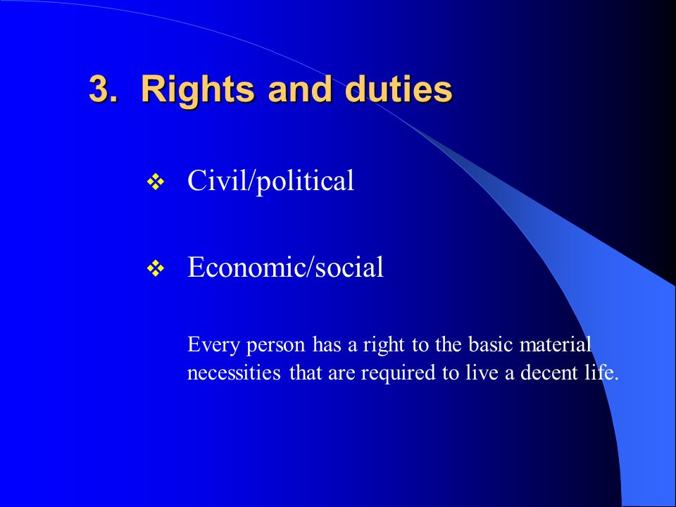 2. Community / Common Good The social nature of the human person The fact that human beings are social by nature indicates that the betterment of the