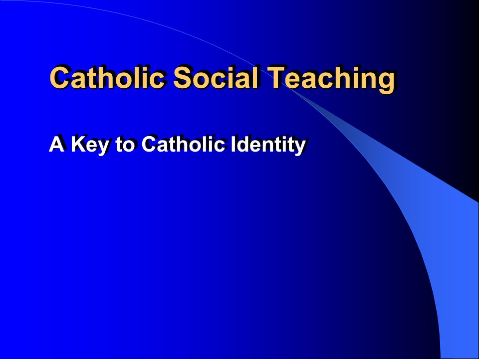 Internet Resources on Catholic Social Teaching http://www.osjspm.org/cst http://www.osjspm.org/justed.htm http://www.mcgill.pvt.k12.al.us/jerryd/cm/cs