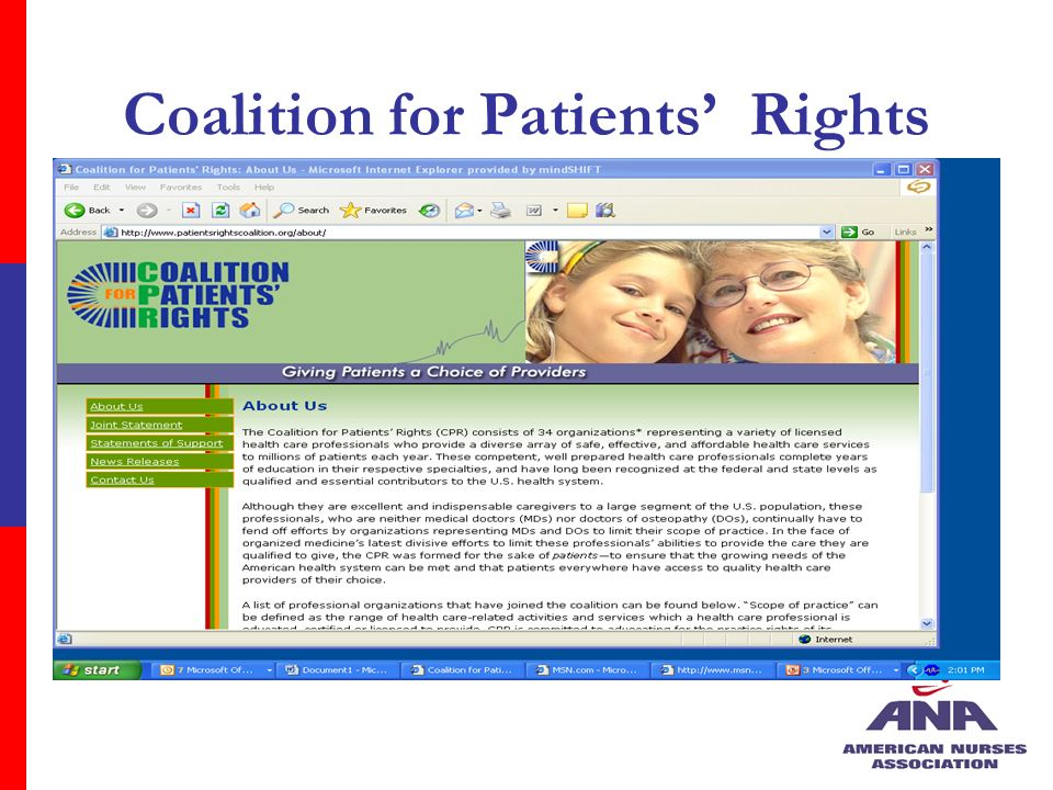 Coalition for Patients Rights