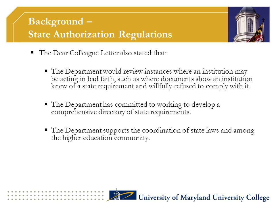 Individual States regulate a variety of activities that they believe demonstrate that an institution has a physical presence in their State.