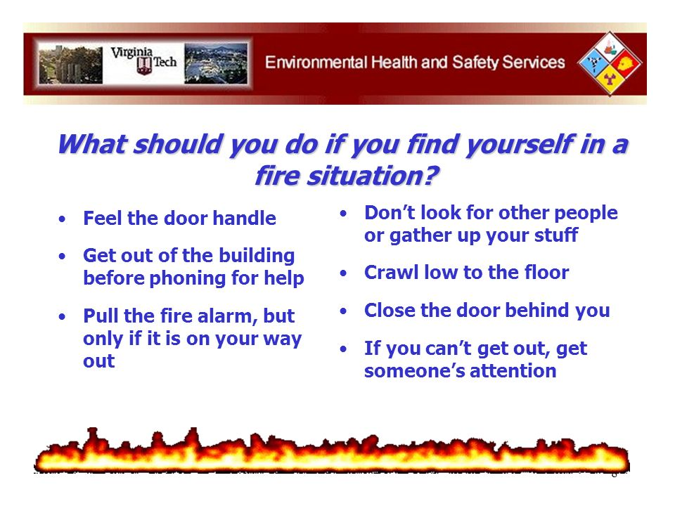 9 Check smoke alarms/detectors Plan escape routes Take fire alarms seriously Take responsibility for prevention Key Points to Remember: What are some of the things you can do to prevent fires and tragedies from happening?