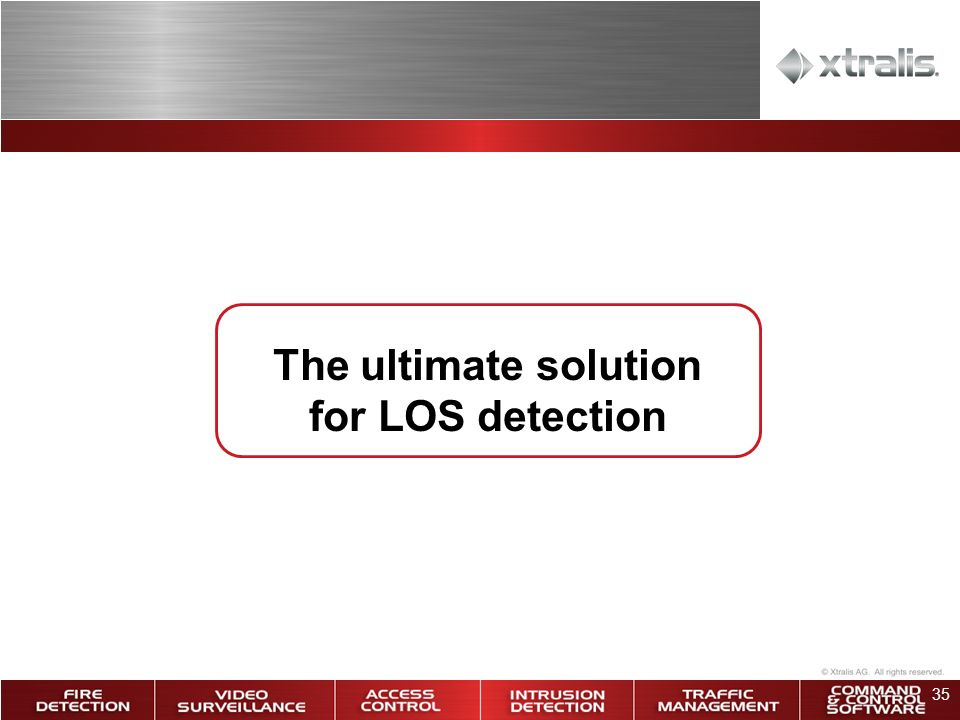 35 The ultimate solution for LOS detection