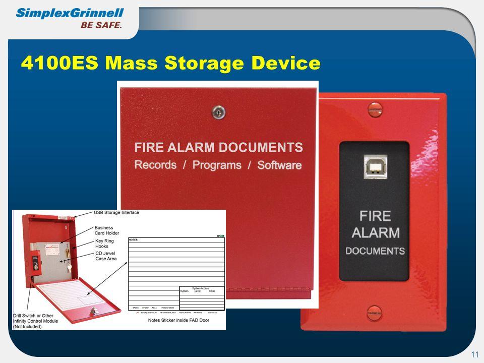 11 4100ES Mass Storage Device