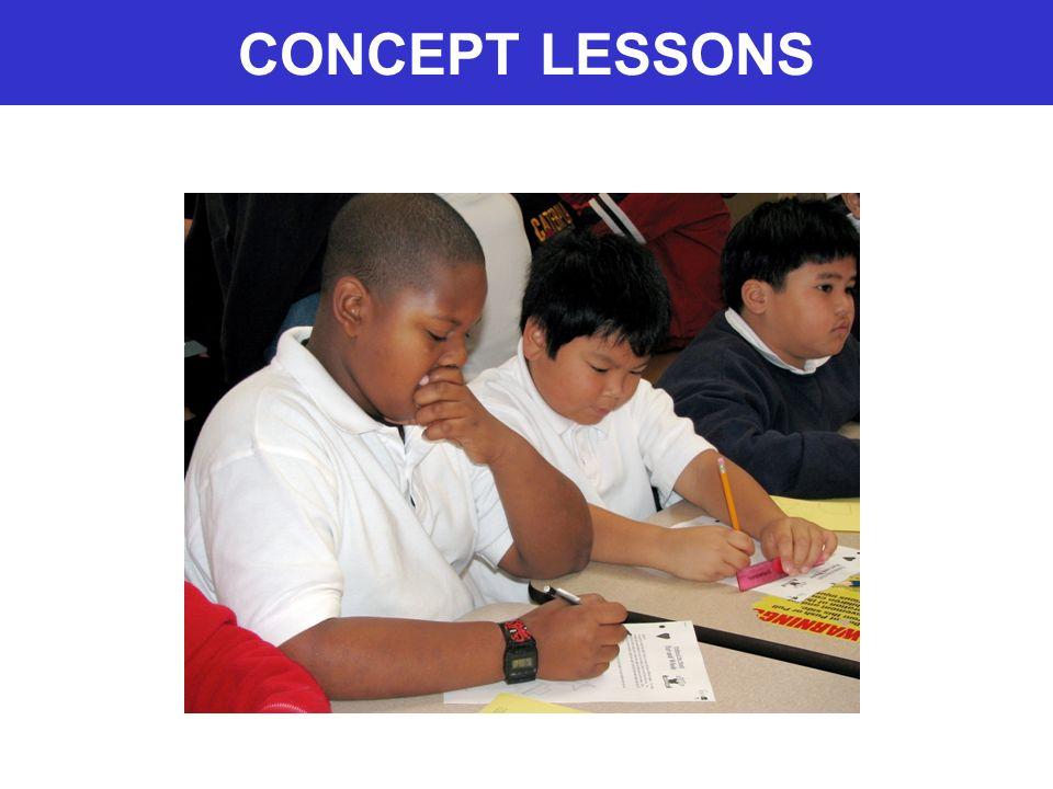 CONCEPT LESSONS