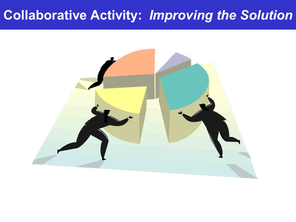 Collaborative Activity: Improving the Solution
