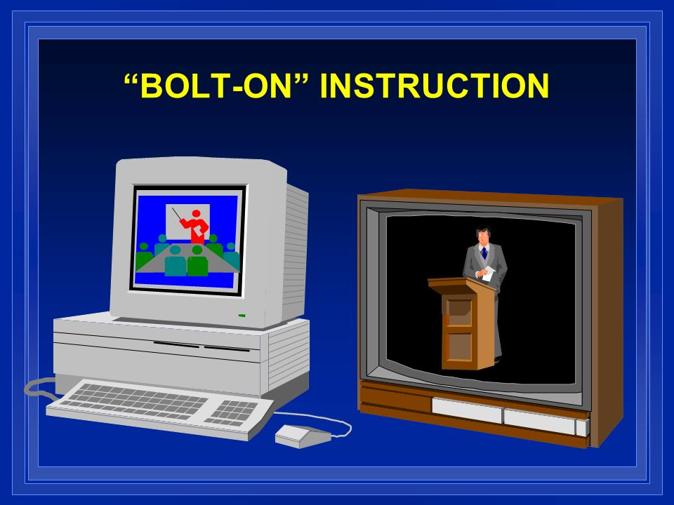 BOLT-ON INSTRUCTION