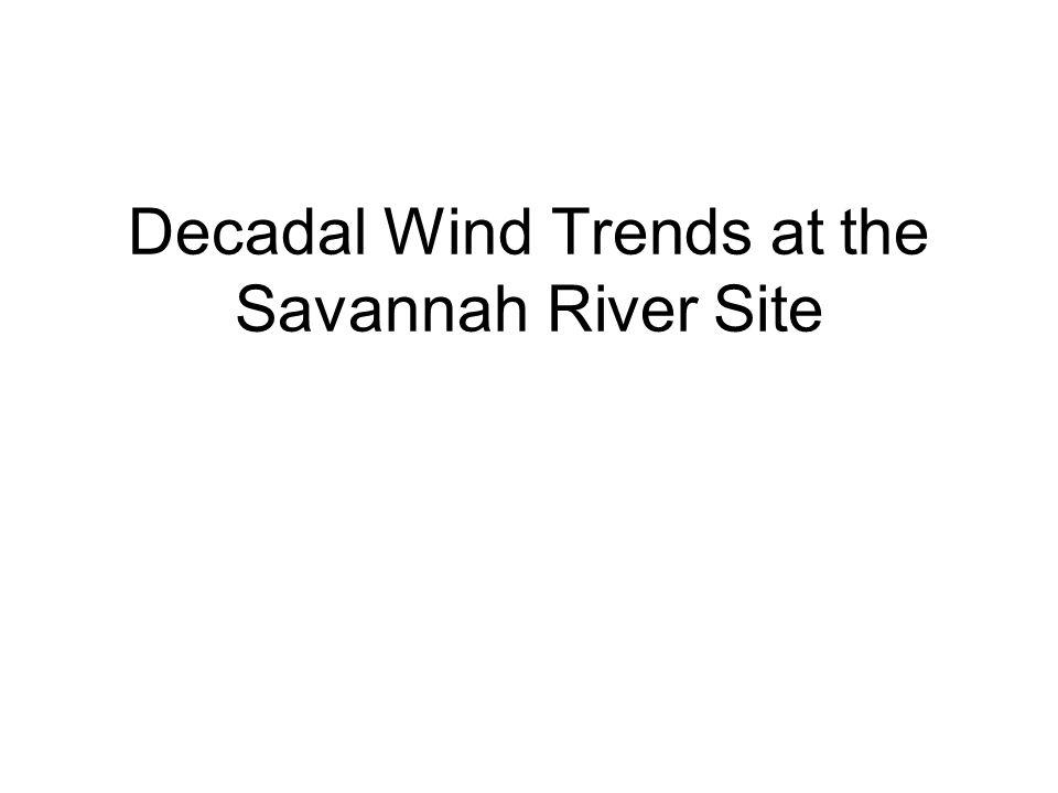 Seasonal Slopes of Trends