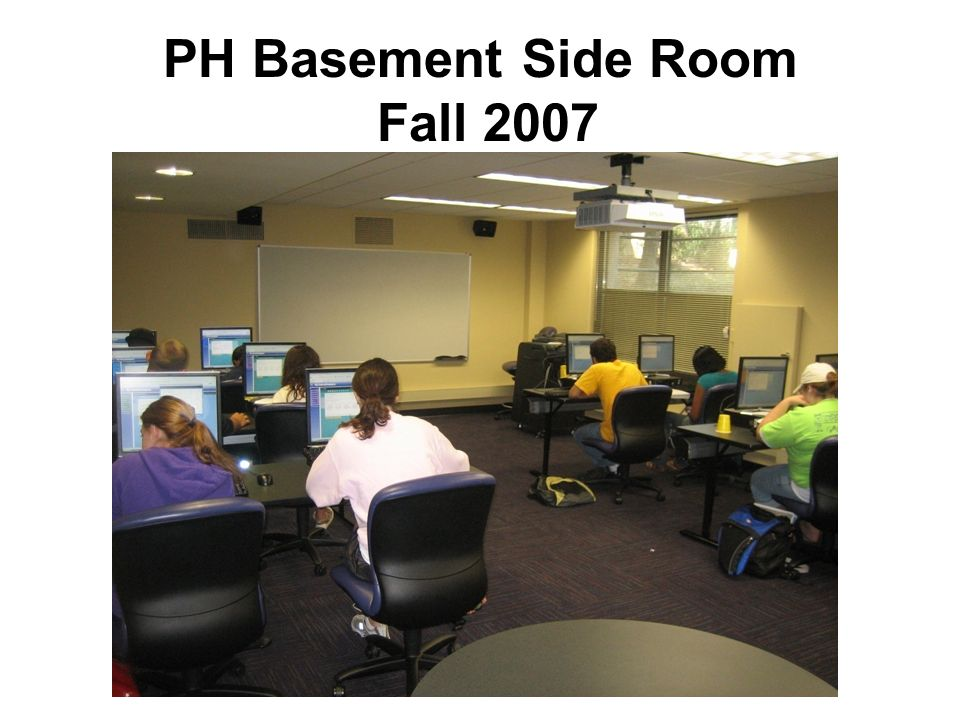 PH Basement Side Room Fall 2007