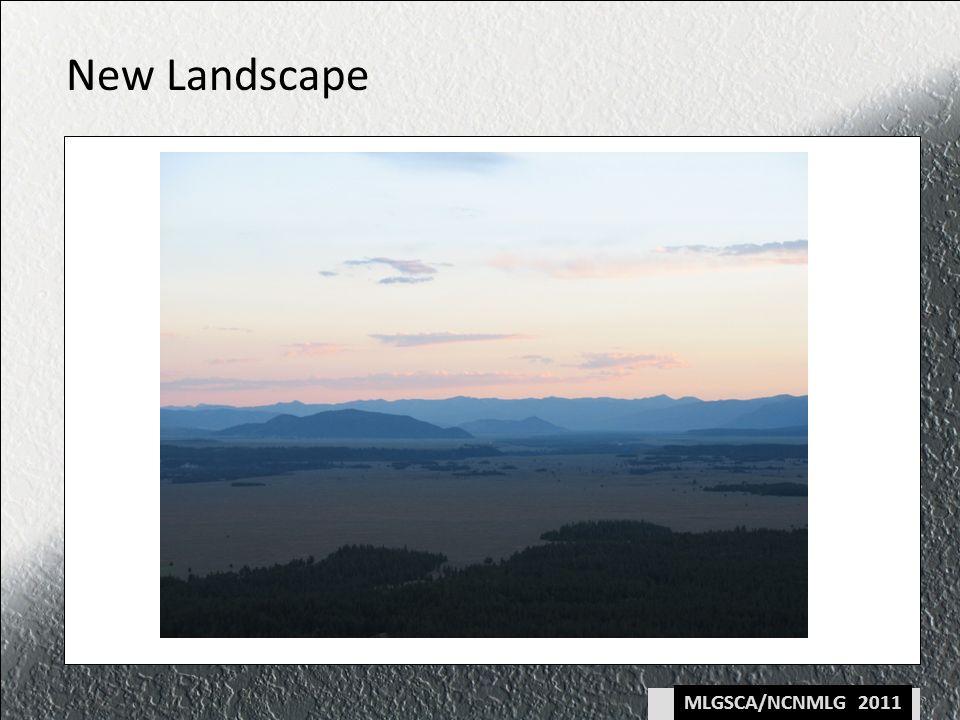 MLGSCA/NCNMLG 2011 New Landscape