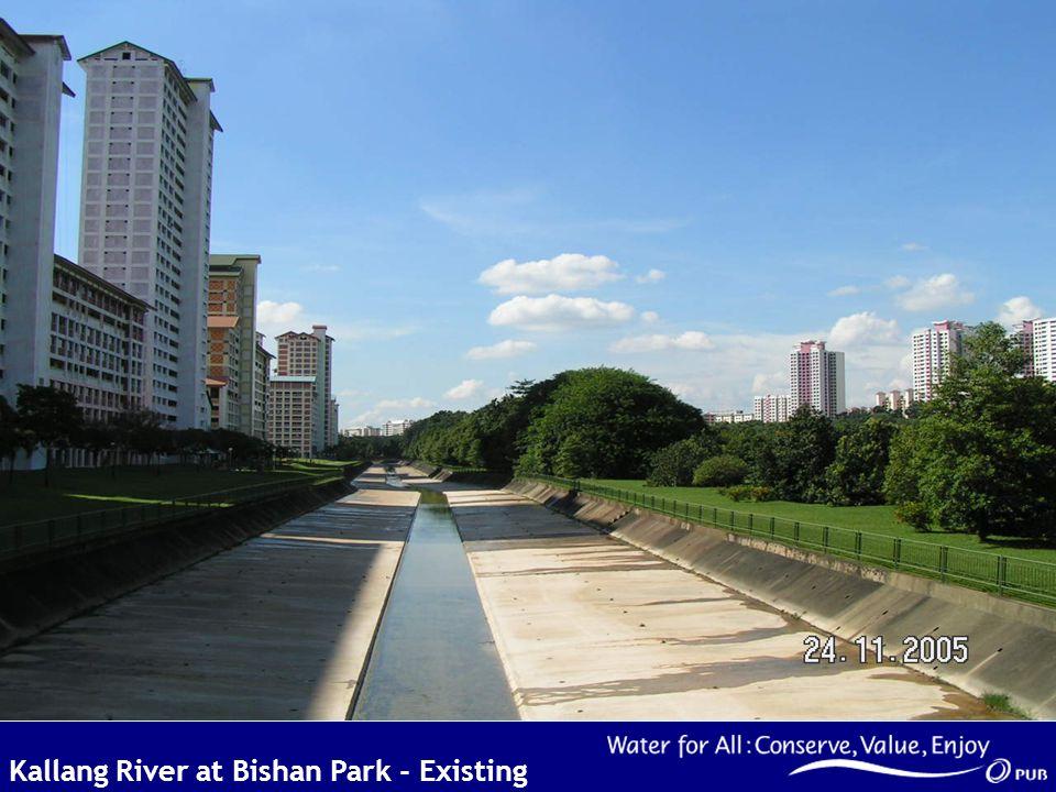 Kallang River at Bishan Park - Existing