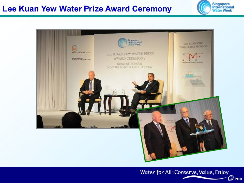 Lee Kuan Yew Water Prize Award Ceremony
