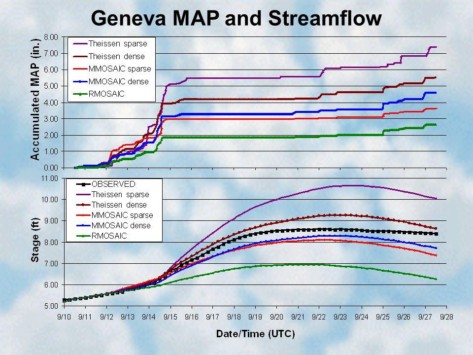 Geneva MAP and Streamflow