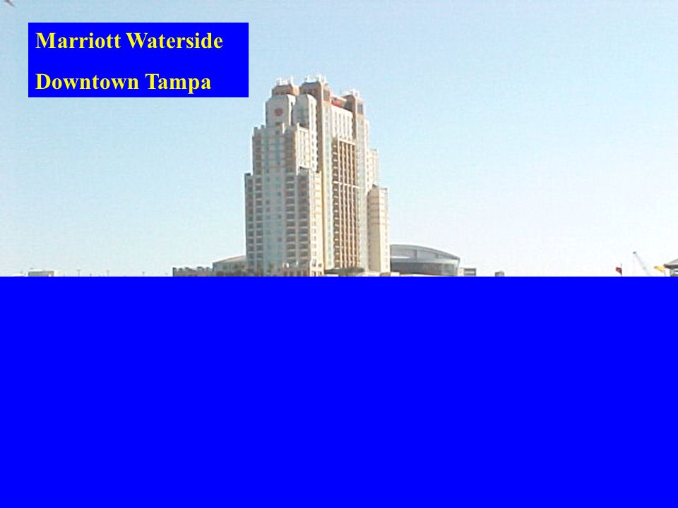 Marriott Waterside Downtown Tampa