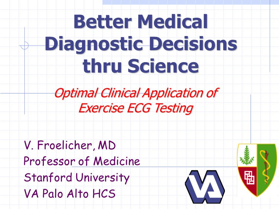 Better Medical Diagnostic Decisions thru Science V.