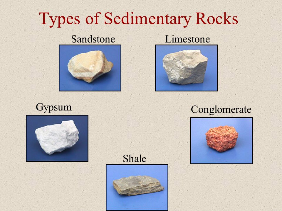 Sedimentary Rocks How They are Made Wind and water break down the earth Wind and water break down the earth Bits of earth settle in lakes and rivers B