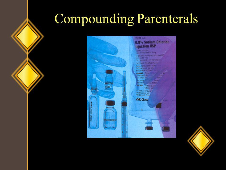 Compounding Parenterals
