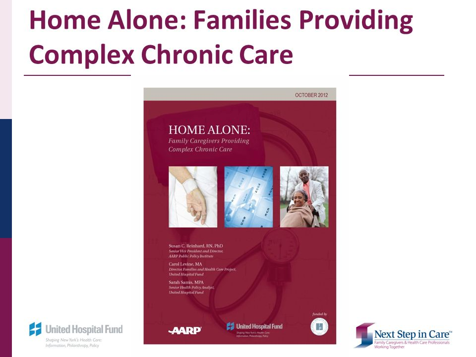 Home Alone: Families Providing Complex Chronic Care