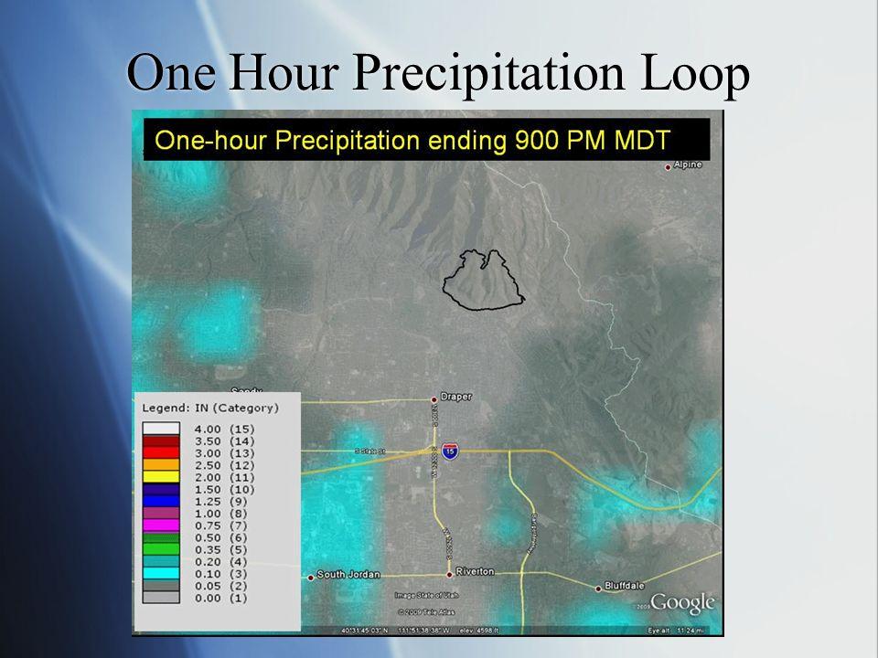 One Hour Precipitation Loop