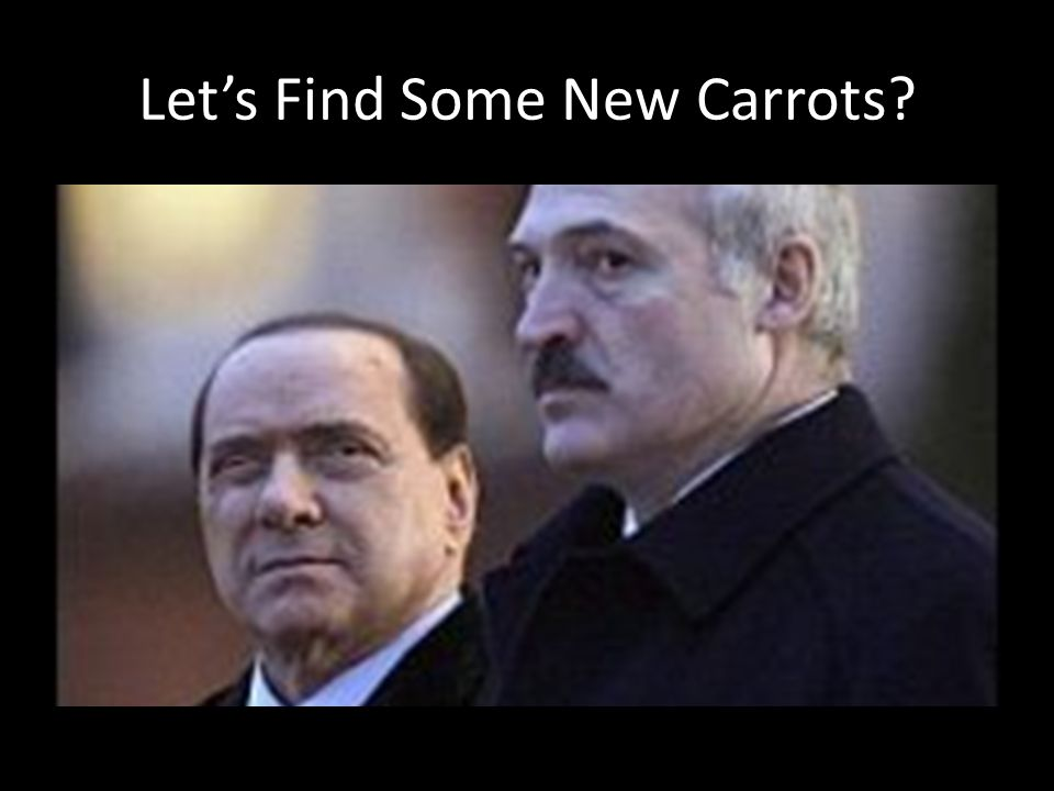 Lets Find Some New Carrots