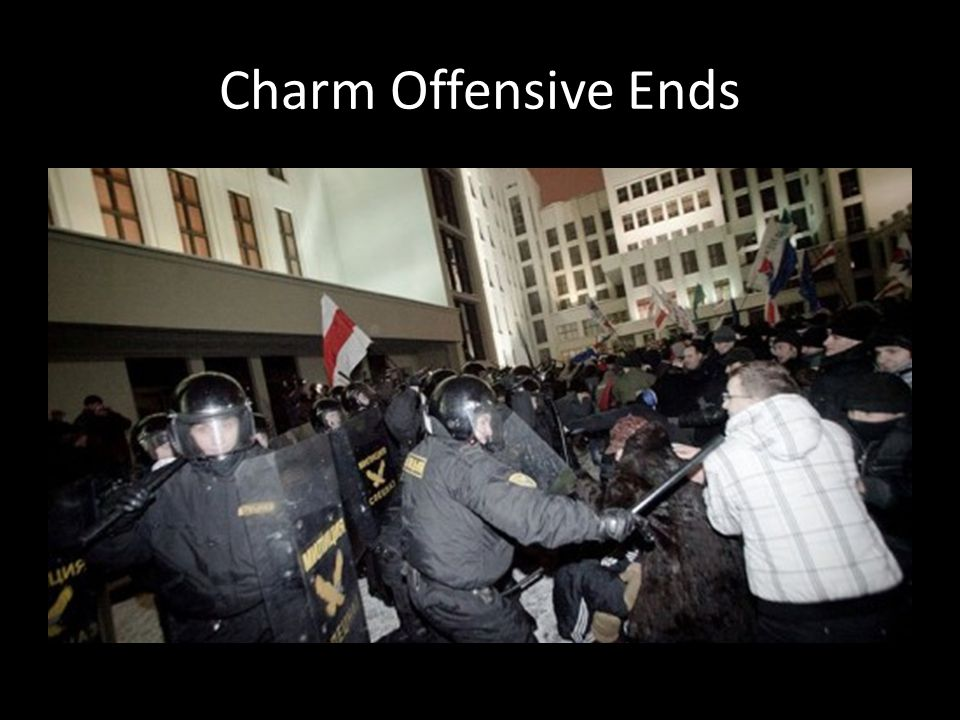 Charm Offensive Ends