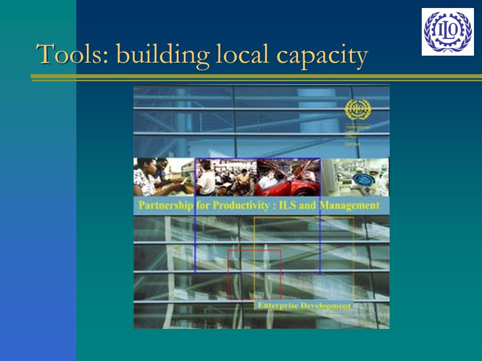 Tools: building local capacity