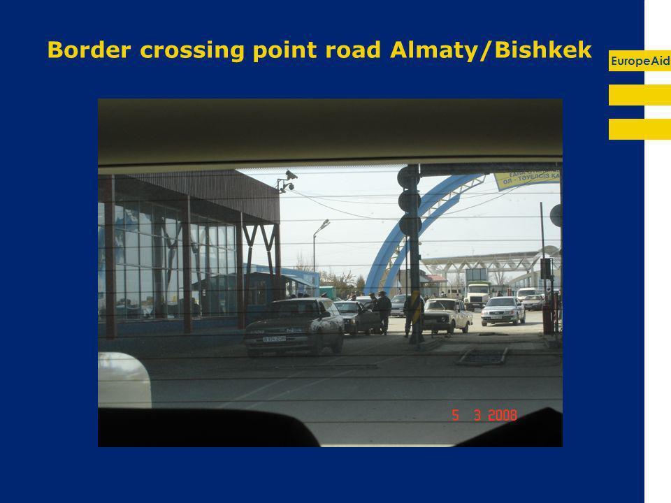 EuropeAid Border crossing point road Almaty/Bishkek