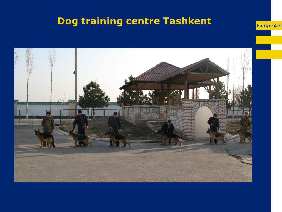EuropeAid Dog training centre Tashkent