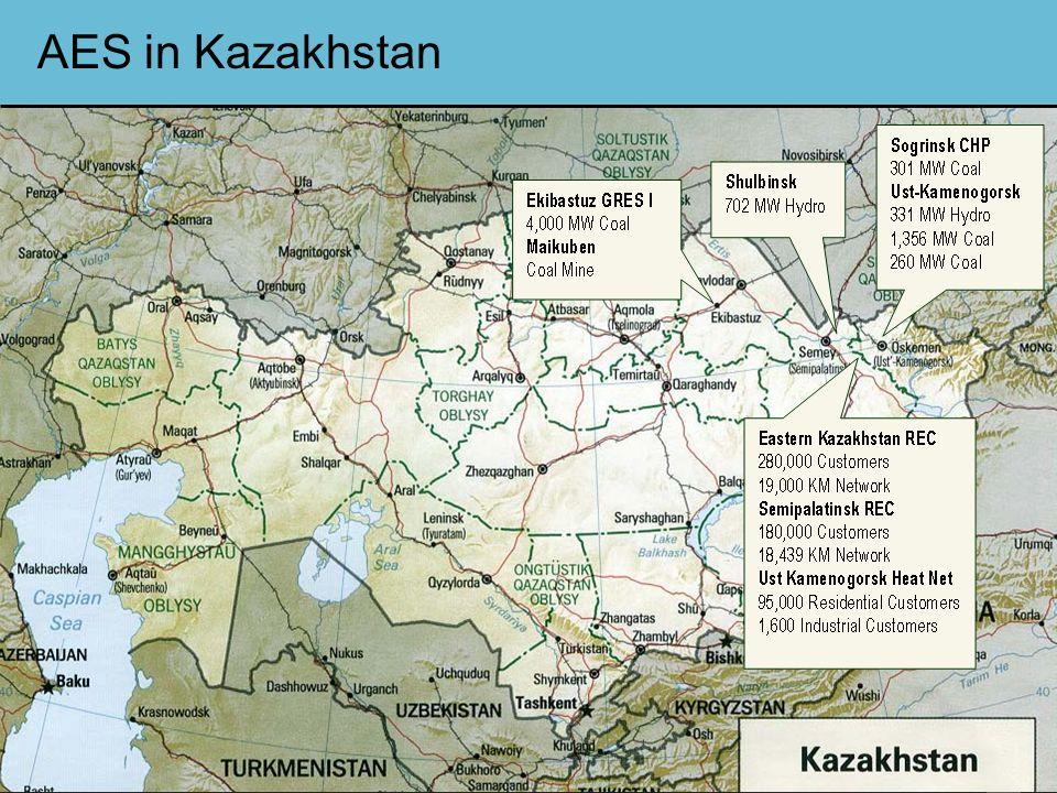www.aes.com 2 AES in Kazakhstan