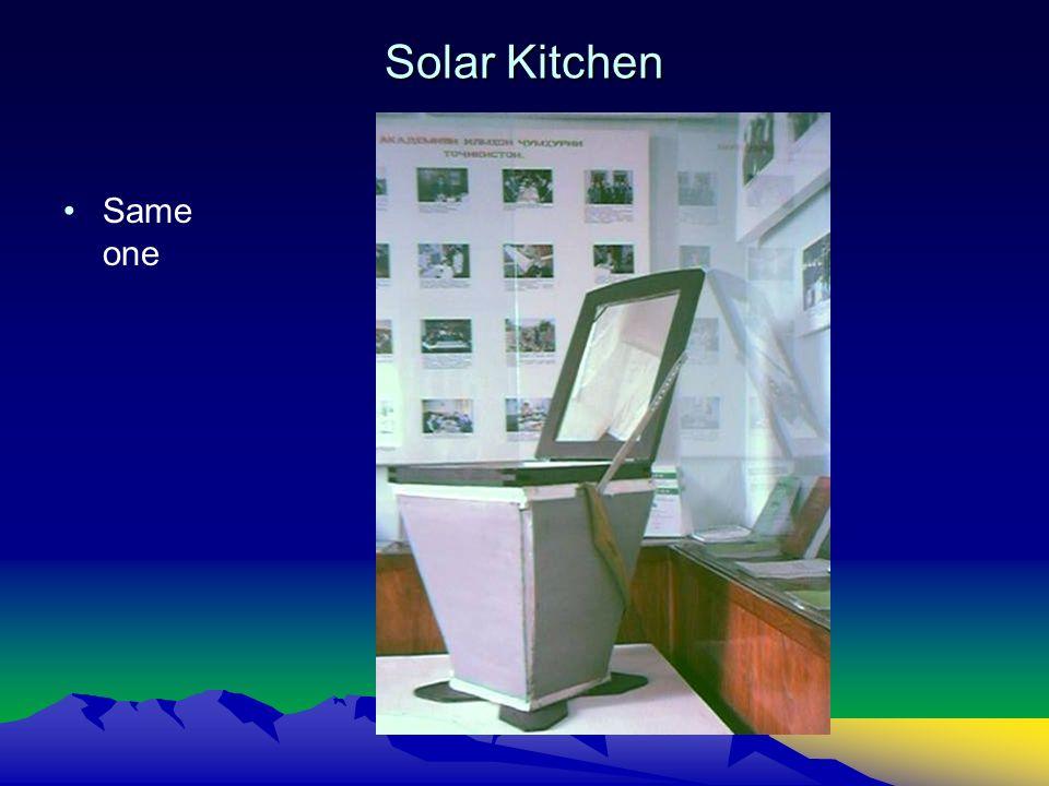 Solar Kitchen Same one