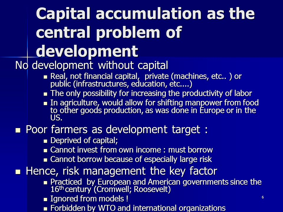 7 In conclusion : which model for trade and development .
