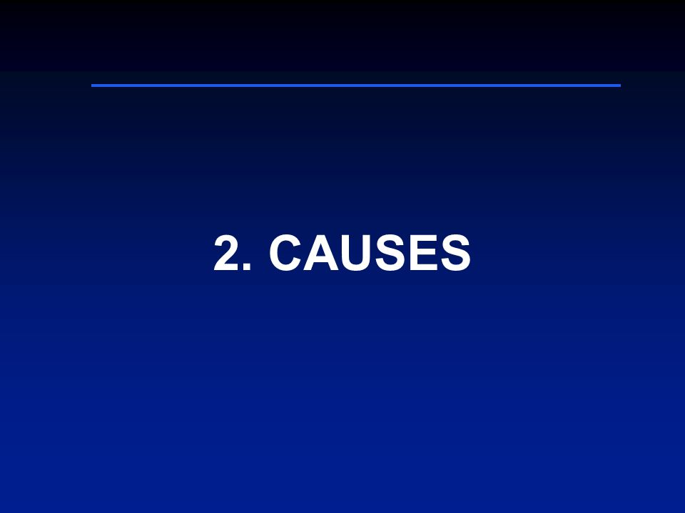 2. CAUSES