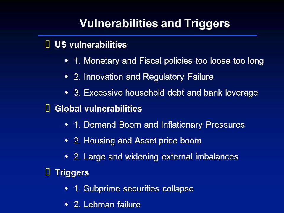 Vulnerabilities and Triggers US vulnerabilities 1.