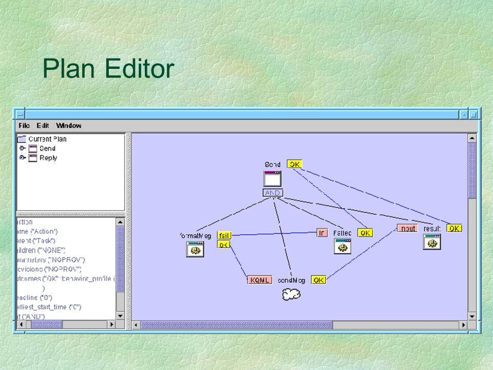 Plan Editor