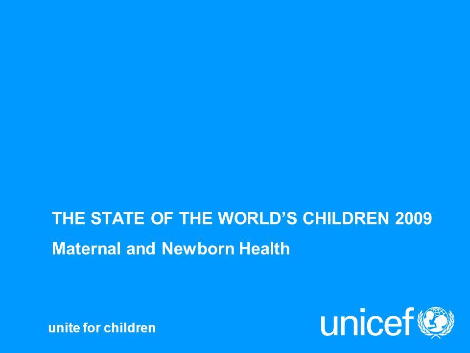 2001-2003 Source: SRS India: 301 Kerala 110 Uttar Pradesh 517 Maternal mortality ratio per 100,000 births per 100,000 live births Less than equal to 150 151 - 300 More than 300 Missing Data