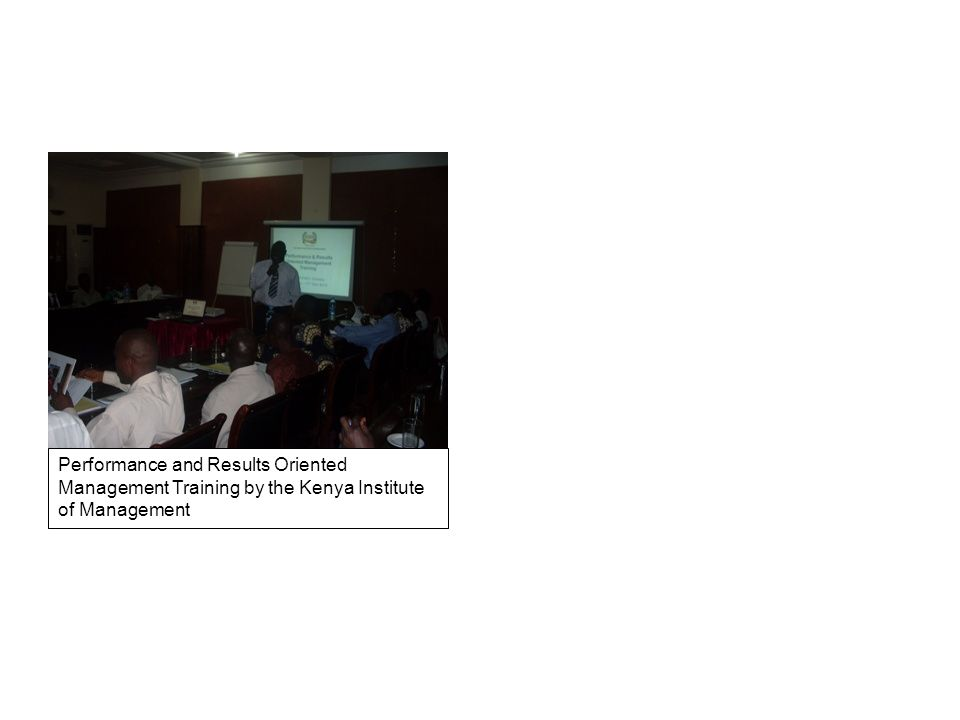 Performance and Results Oriented Management Training by the Kenya Institute of Management